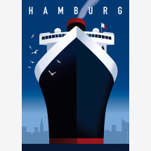 -Hamburg harbor poster-21