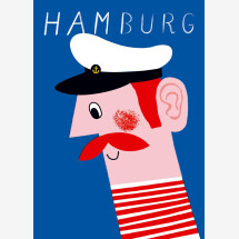 -Hamburg Jörn Blau postcard-21