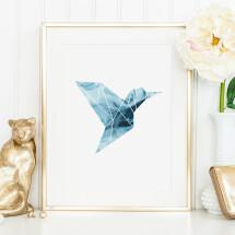 -Tales by Jen Art Print: Hummingbird-21
