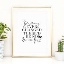 -Tales by Jen Art Print: If nothing ever changed there would be no butterflies-21