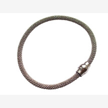-Bracelet 925 silver rhodium plated-21