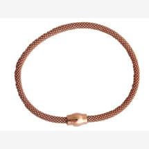 -Bracelet 925 Silver Rose Gold plated-21