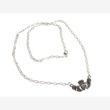 -Pendant Claddagh Necklace 925 Silver-21