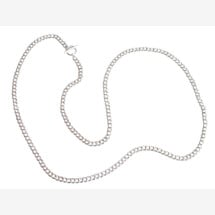 -Necklace solid 925 silver 90 cm-21
