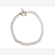 -Unisex bracelet solid 925 silver 19 cm-21