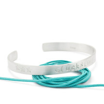 -oval open bangle silver STATEMENT no2-21