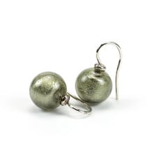 -Murano glass earrings anthracite-21