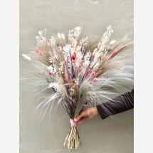 -Bouquet of dried flowers pampas dried flowers bouquet of dried flowers dried flower bouquet flowers bridal bouquet-21