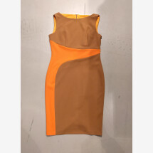 -orange-brown pencil dress RINASCIMENTO-22
