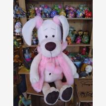 -Niedliche Hundedame mit rosa Weste-21