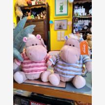 -Hippopotamus with striped shirt-2