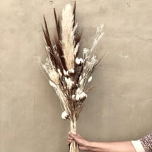 -Dried flowers pampas grass Cotton bouquet Dried flower bouquet Dried flower bouquet Dried flower bouquet-21