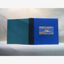 "-Photo album with ceramic insert for weddings ""Scilla e Cariddi""-21"