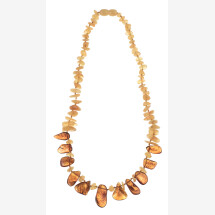 """-Amber necklace """"Jurate""""-21"""
