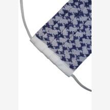 -Reversible cloth mask Pali white / blue-21