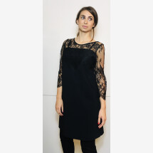 -Evening dress with lace from Christies-21