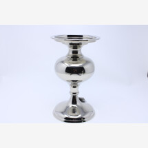 -B-ware silver antique candlestick high for pillar candles L2B-ware-21