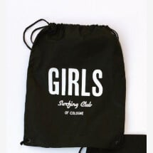 -Gym bag: Girl Surfing Club-22