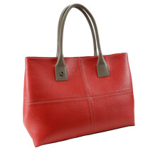 -Natalia tote Red leather bag-21