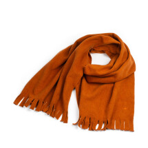 -soki fleece scarf henna made of 100% organic cotton-21