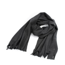 -soki fleece scarf charcoal made of 100% organic cotton-21