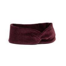 -soki headband made of organic cotton burgundy-2
