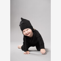 -HOOD IN ORGANIC COTTON WHITE AND BLACK-20