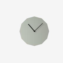 -Neo / Craft Gray Twelve Sided Wall Clock-21