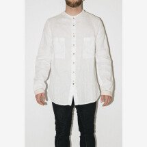 -White Linen Shirt from MAVRANYMA-21