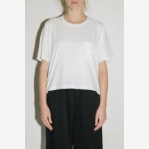 -White T-shirt Over from POMANDÈRE-21