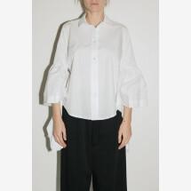 -White Shirt Volant Cascade from MILLA MILLA-21