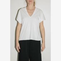 -White Fiocco T-Shirt from POMANDÈRE-21