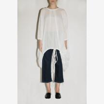-White Oversized Tshirt Coulisse from FILIPPO GRANDULLI-21