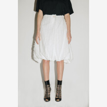 -White Balloon Skirt from FILIPPO GRANDULLI-21