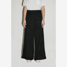 -Black Long-Side Trousers from ANDREA YAAQOV-21