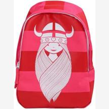 -Danefae Red Risa Striped Freja Great Backpack-21