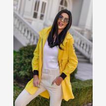 -Yellow hooded neck-21