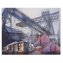"-Canvas Print ""HAMBURG Jarrestadt""-20"