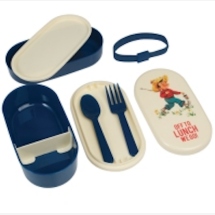 -LUNCH BOX BENTO-BOX VINTAGE BOY lunch box-22