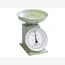 -Kitchen scale antique green french style-2