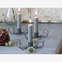 -Candlestick BLOSSOM Chic Antique-22