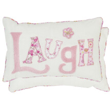 -Cushion LAUGH with filling 36 X 23 cm beige pink-21