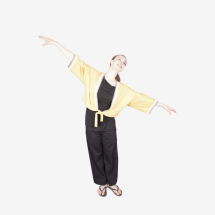 -short yellow kimono jacket tied-23