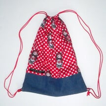"-Childrens gym bag ""Matryoshka""-20"