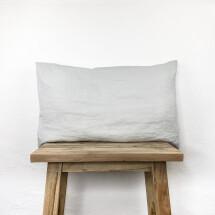 -Linen cushion Edda light gray Lundkvist-22