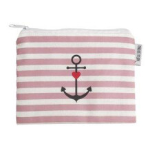 -Small cosmetic bag anchor pink Mea Living-21