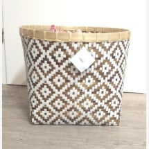 "-Basket ""pattern"" fairtrade STORAGE-2"