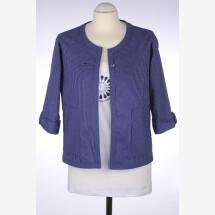 -Tiny blue cropped jacket-21
