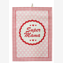 -SUPER MAMA tea towel Krasilnikoff-2