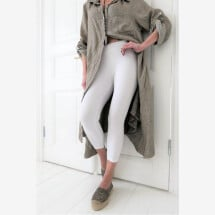 -Legging BAMBOO white length midi-21